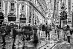 Piersandra Pedrazzini, Luciano Buscarini<br /> Milano in movimento